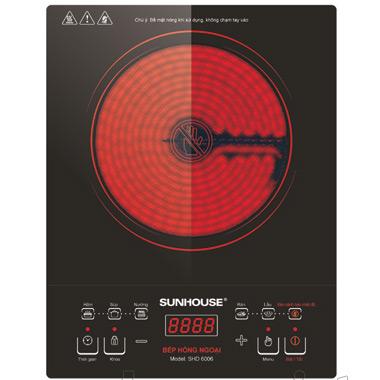 Bếp hồng ngoại Sunhouse SHD6006 cảm ứng