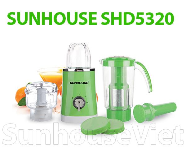 Máy xay sinh tố đa năng Sunhouse SHD5320