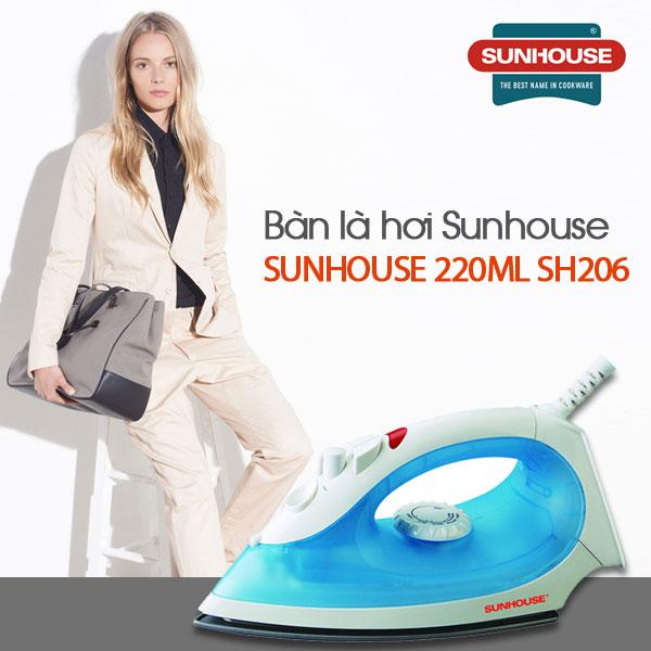 Bàn là hơi Sunhouse 220ml SH206