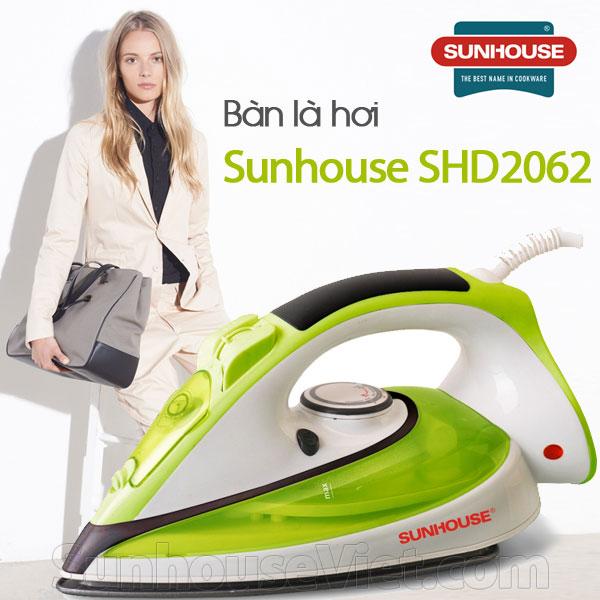 Bàn là hơi Sunhouse SHD2062 hai chế độ