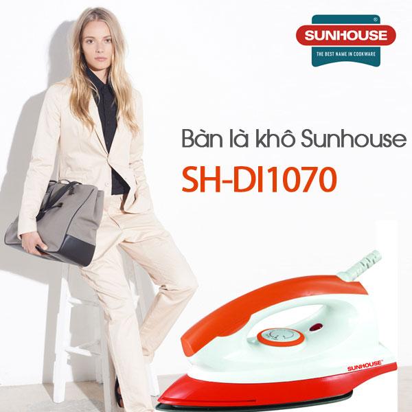 Bàn là khô Sunhouse-SH-DI1070