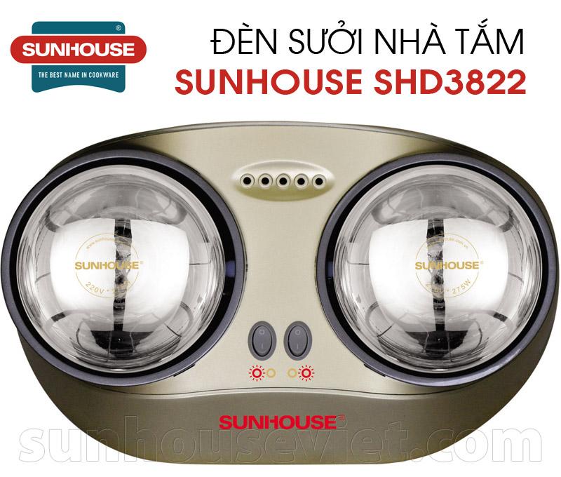 Den suoi nha tam Sunhouse SHD3822