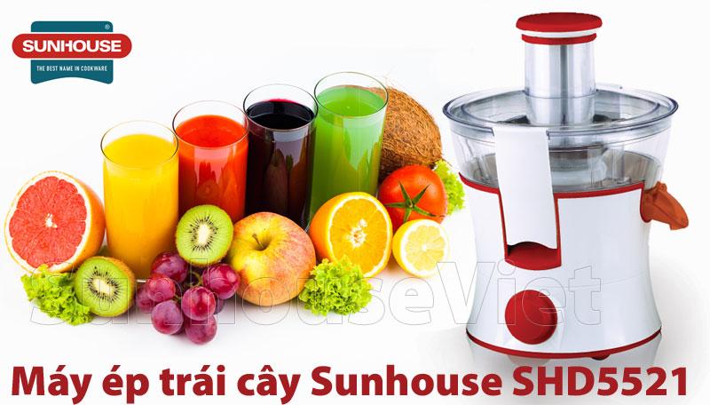 may ep trai cay sunhouse shd5521 tien loi