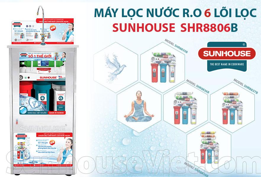 may loc nuoc r.o 6 loi sunhouse shr8806b