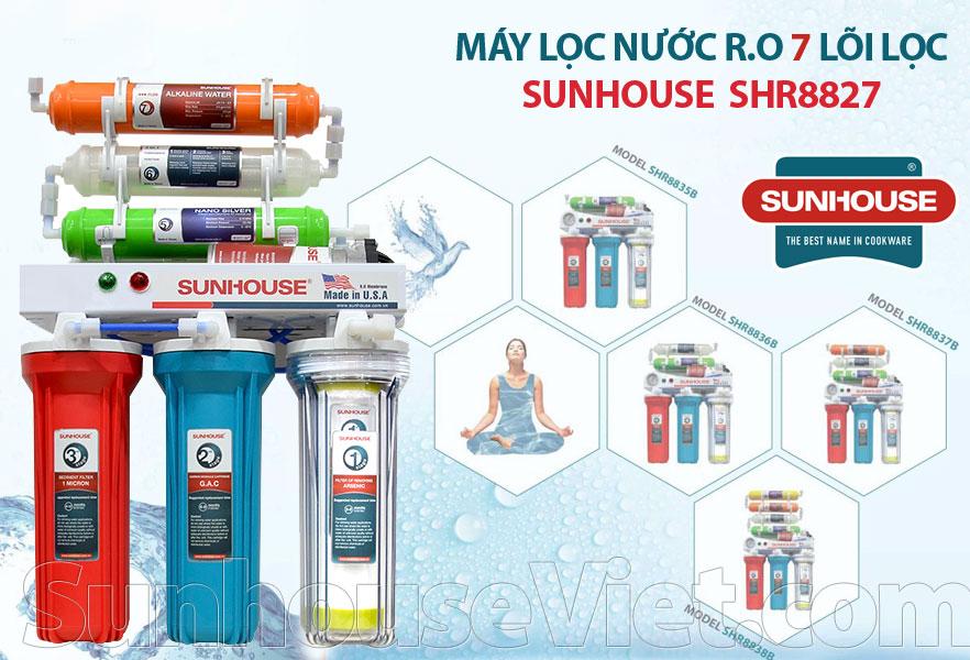 may loc nuoc r.o 7 loi loc sunhouse shr8827