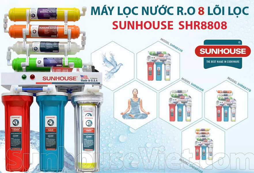 may loc nuoc r.o 8 loi sunhouse shr8808 re