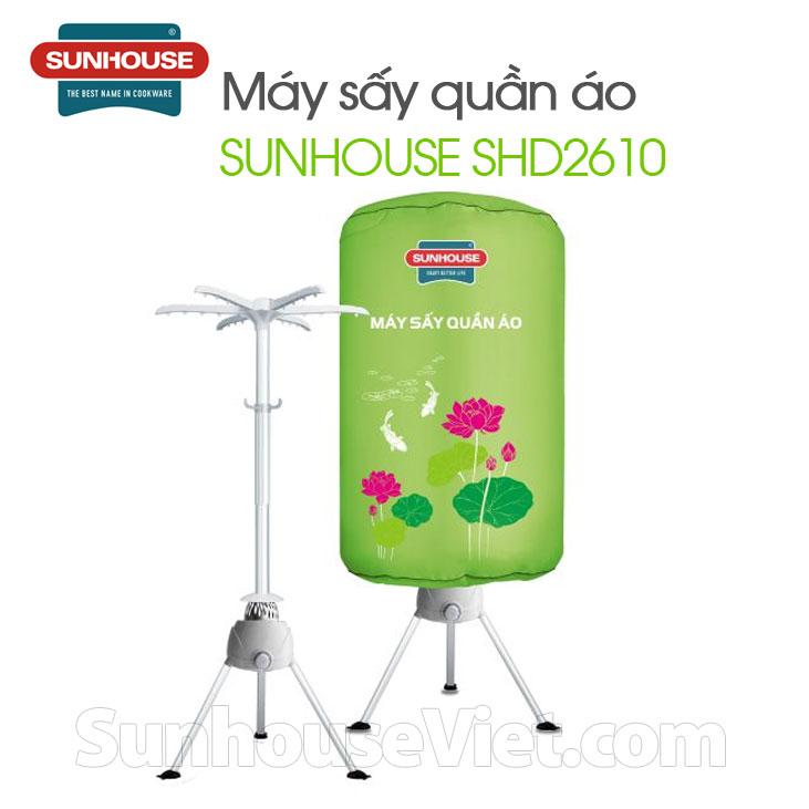 máy sấy quần áo Sunhouse SHD2610