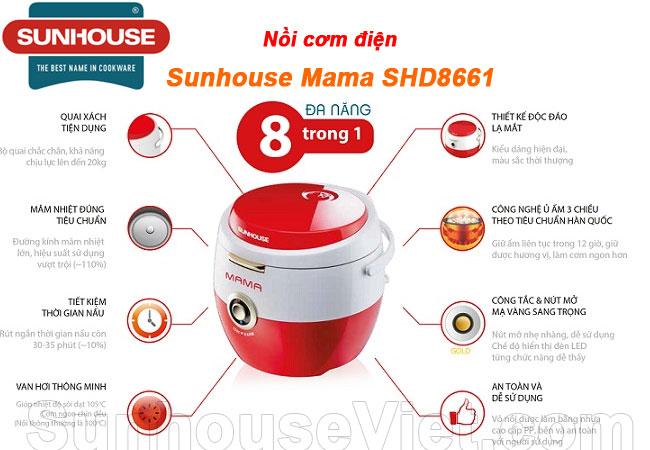 noi nau com ngon sunhouse shd8661 tien dung