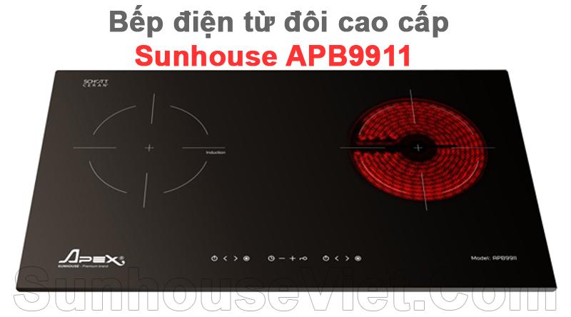 bep dien tu doi cao cap sunhouse apb9911