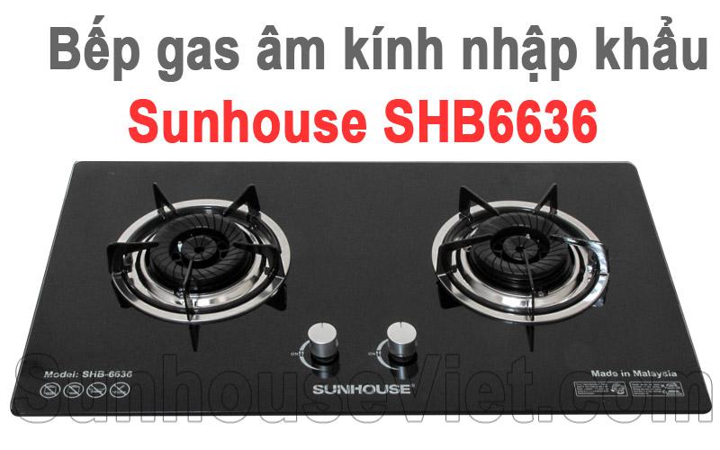 bep ga am kinh nhap khau sunhouse shb6636