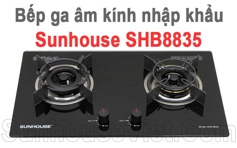 bep ga am kinh nhap khau nguyen chiec sunhouse shb8835