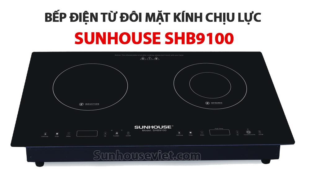 Bep dien tu doi Sunhouse SHB9100