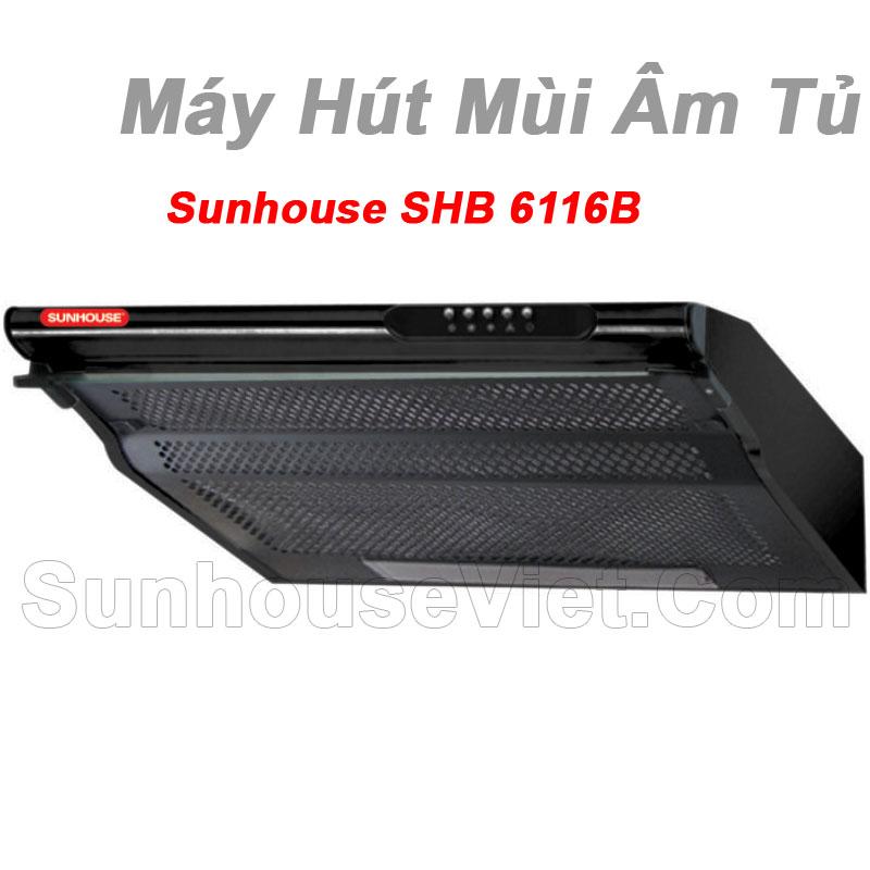 may hut khoi khu mui kinh thang sunhouse shb6116b