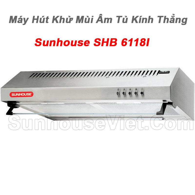 may hut khu mui kinh thang cao cap sunhouse shb6118i dang am tu