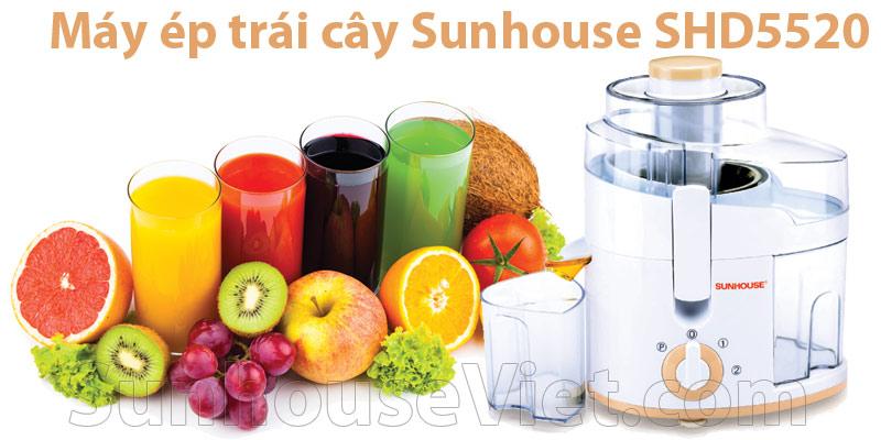 máy ép trái cây sunhouse SHD5520