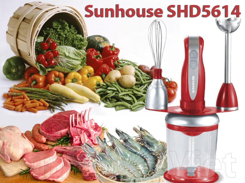 Máy xay cầm tay sunhouse đa năng SHD5614