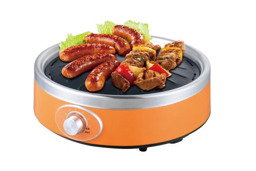Bếp nướng điện hồng ngoại Sunhouse SHD 4668 có cả màu cam để bạn lựa chọn