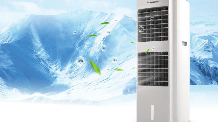 Tận hưởng hơi mát từ máy làm mát không khí Sunhouse SHD7738