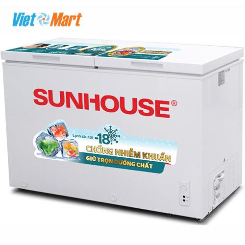 Tủ đông Sunhouse SHR-F2472W2 2 ngăn 2 cánh