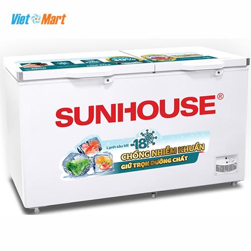 Tủ đông Sunhouse SHR-F2572W2 2 ngăn 2 cánh